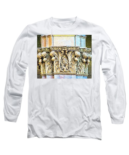 Long Sleeve T-Shirt featuring the digital art Classic by Wendy J St Christopher