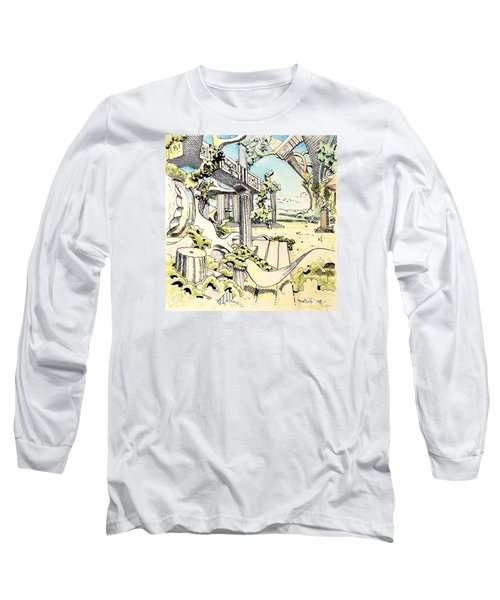 Classical Construction Long Sleeve T-Shirt