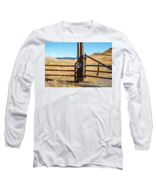 Clean Power And Old Ranch Gates Long Sleeve T-Shirt