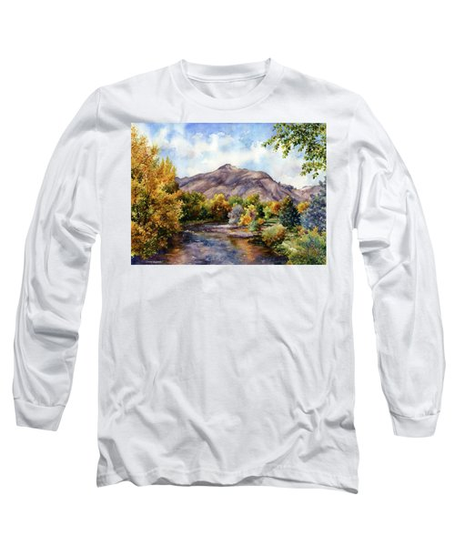 Clear Creek Long Sleeve T-Shirt by Anne Gifford