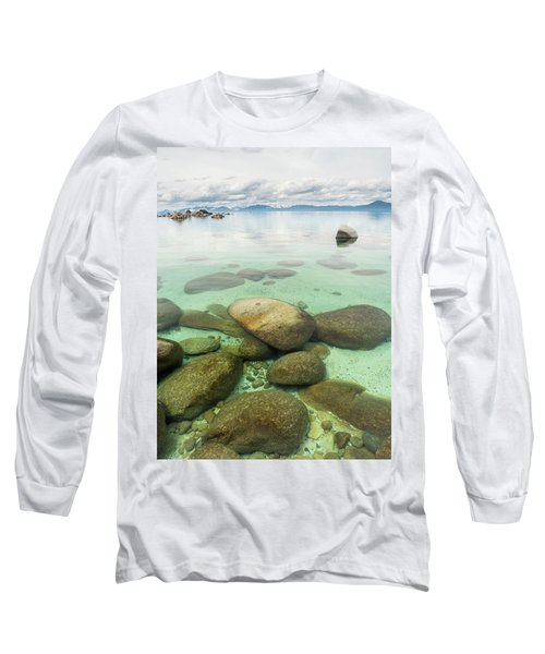 Clear Water, Stormy Sky Long Sleeve T-Shirt