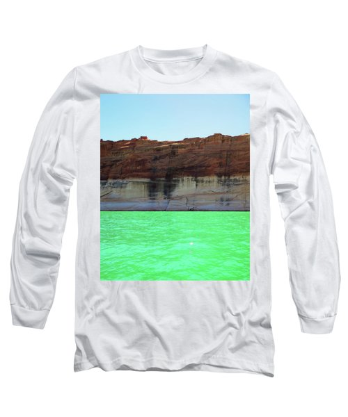 Cliff At Lake Powell Long Sleeve T-Shirt