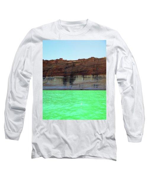 Cliff At Lake Powell Long Sleeve T-Shirt