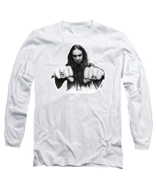 Cliff Burton Long Sleeve T-Shirt