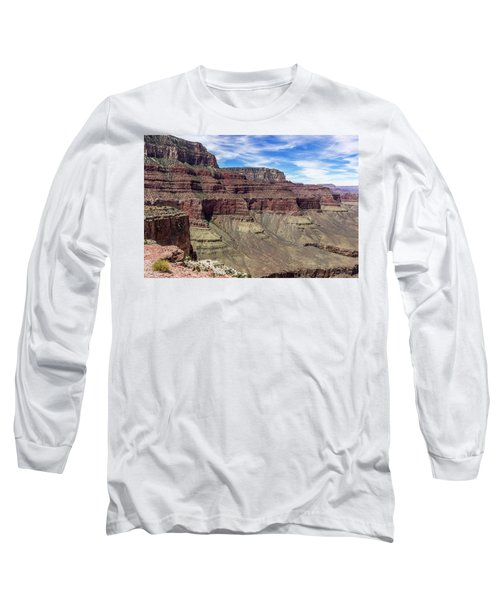 Cliffs In The Grand Canyon Long Sleeve T-Shirt