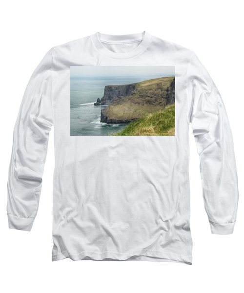 Long Sleeve T-Shirt featuring the photograph Cliffs Of Moher 1 by Marie Leslie