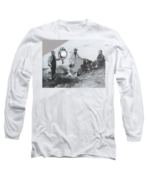 Clifton Young And Bogie Fight To The Death Dark Passage 1947-2016 Long Sleeve T-Shirt
