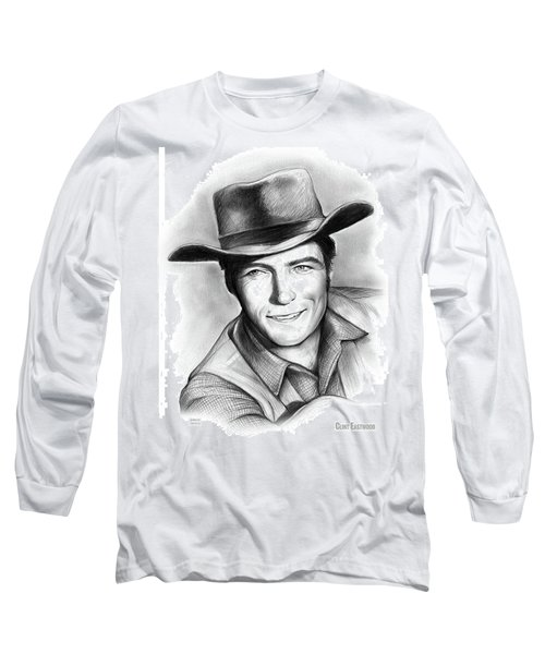 Clint Eastwood 03feb18 Long Sleeve T-Shirt