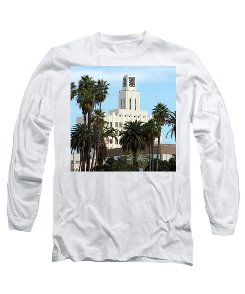 Clock Tower Building, Santa Monica Long Sleeve T-Shirt