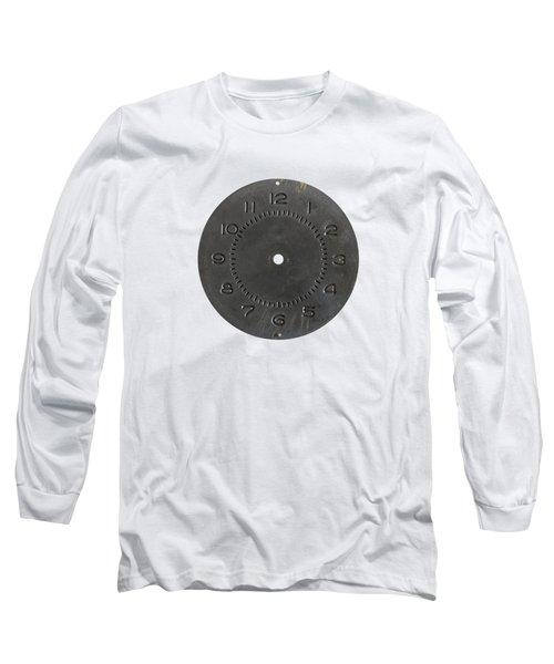 Clockface Long Sleeve T-Shirt