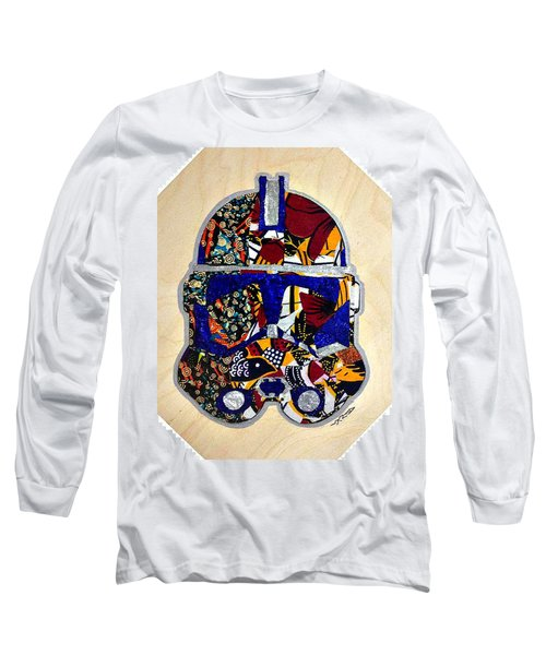 Long Sleeve T-Shirt featuring the tapestry - textile  Clone Trooper Star Wars Afrofuturist by Apanaki Temitayo M