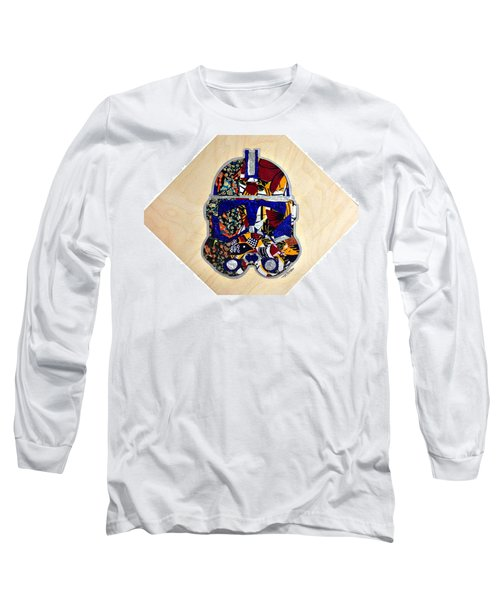 Clone Trooper Star Wars Afrofuturist Long Sleeve T-Shirt