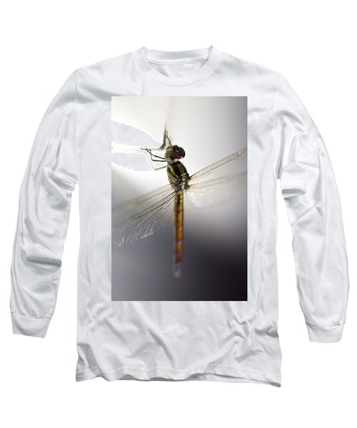Close Up Shoot Of A Anisoptera Dragonfly Long Sleeve T-Shirt