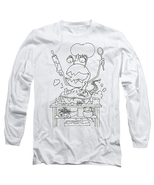 Closet Monster Baking Long Sleeve T-Shirt