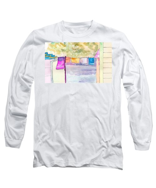 Clothes On The Line Long Sleeve T-Shirt
