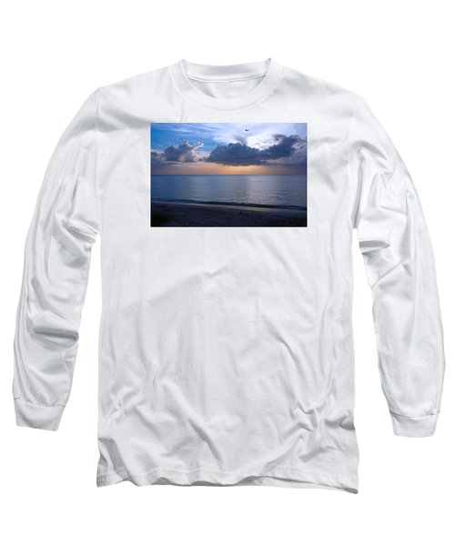 Cloud Creatures At Delnor Wiggins Pass State Park Long Sleeve T-Shirt
