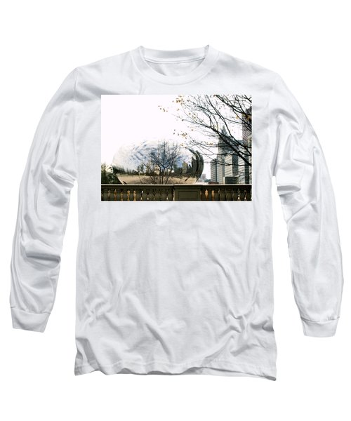 Cloud Gate - 1 Long Sleeve T-Shirt by Ely Arsha