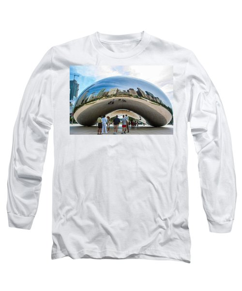 Cloud Gate Aka Chicago Bean Long Sleeve T-Shirt
