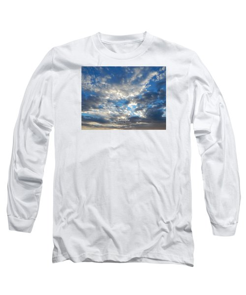 Clouds #4049 Long Sleeve T-Shirt by Barbara Tristan