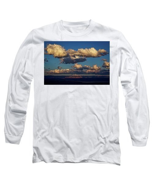 Clouds And Red Rocks Hdr Long Sleeve T-Shirt