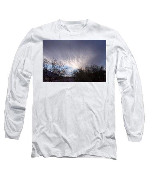 Clouds In Desert Long Sleeve T-Shirt
