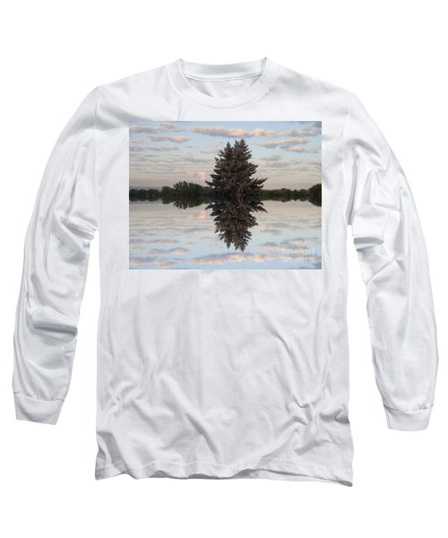 Clouds Up And Down Long Sleeve T-Shirt by Christina Verdgeline