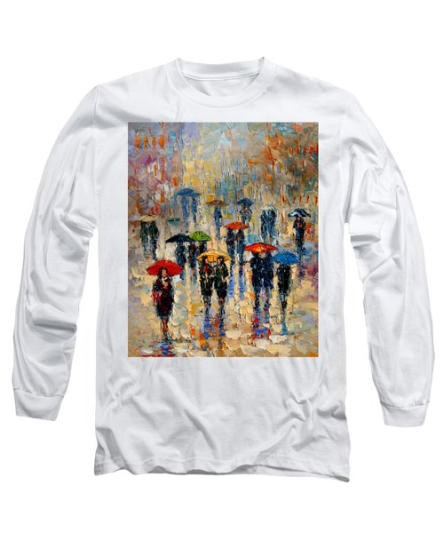 Cloudy Day Long Sleeve T-Shirt by Andre Dluhos