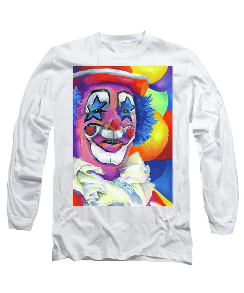 Clown With Balloons Long Sleeve T-Shirt