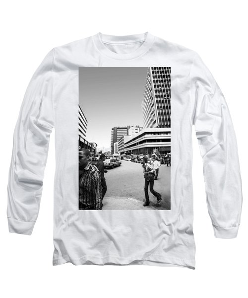 Cms Bus-stop Broad Street I Long Sleeve T-Shirt