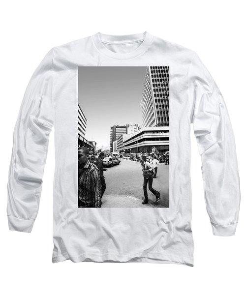 Cms Bus-stop Broad Street I Long Sleeve T-Shirt