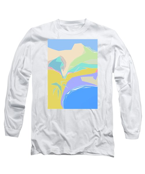 Coast Of Azure Long Sleeve T-Shirt