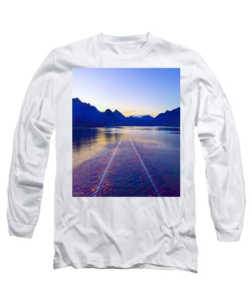 Coastal Rail Road Long Sleeve T-Shirt
