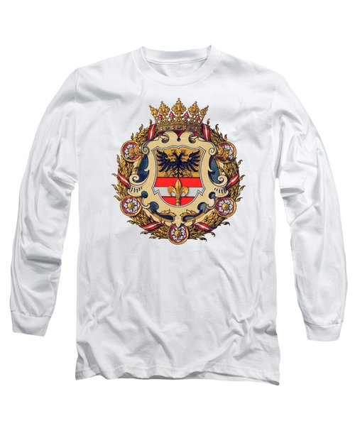 Coat Of Arms Of Triest Long Sleeve T-Shirt