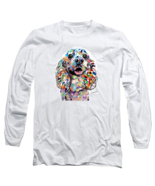 Cocker Spaniel Head Long Sleeve T-Shirt