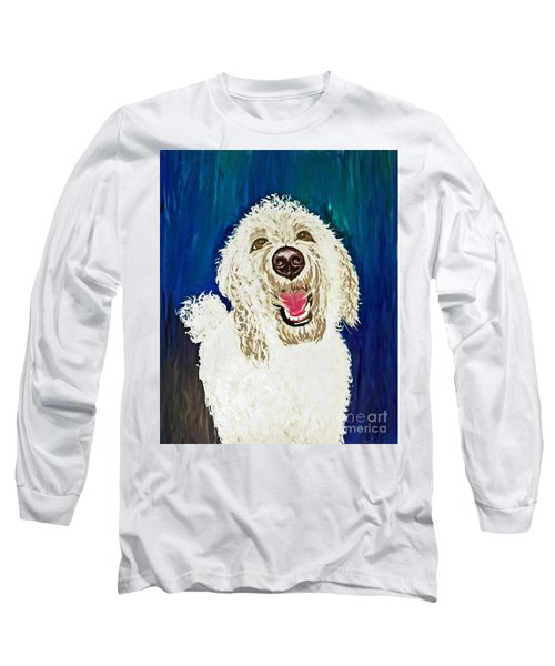 Long Sleeve T-Shirt featuring the painting Coco  by Ania M Milo