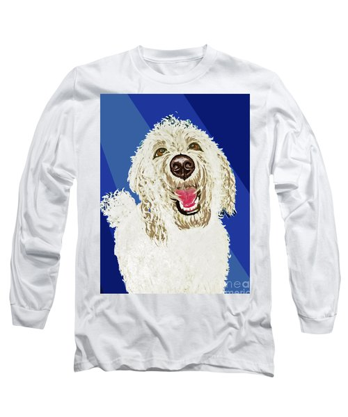 Long Sleeve T-Shirt featuring the painting Coco Digitized by Ania M Milo