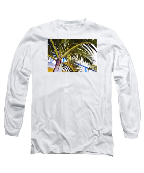 Coconut Cover Long Sleeve T-Shirt by JAMART Photography