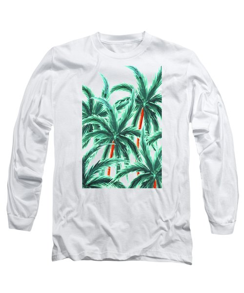 Coconut Trees Long Sleeve T-Shirt