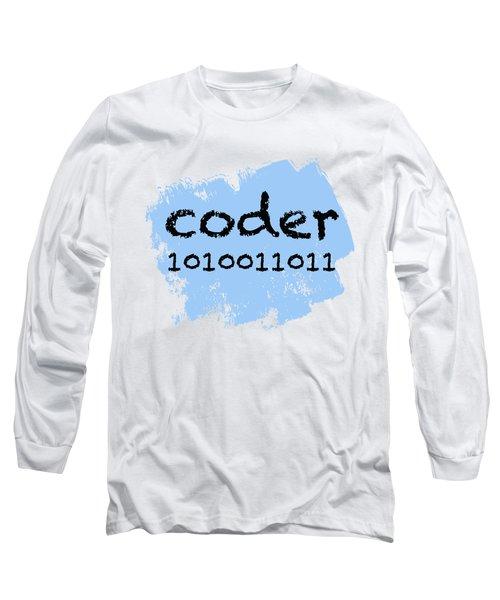 Coder Long Sleeve T-Shirt