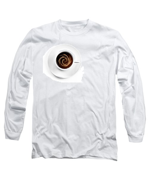 Long Sleeve T-Shirt featuring the photograph Coffee And Cream by Gert Lavsen