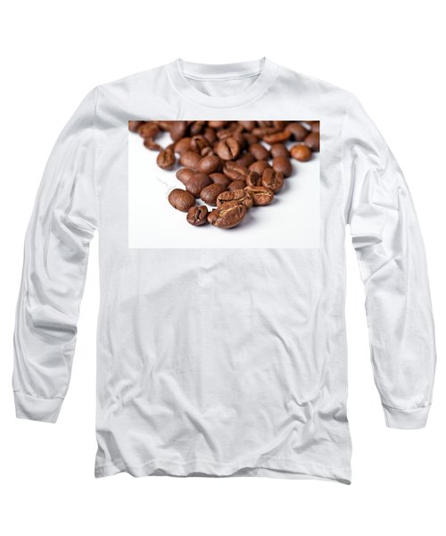 Long Sleeve T-Shirt featuring the photograph Coffee Beans by Gert Lavsen