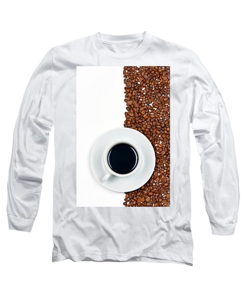 Long Sleeve T-Shirt featuring the photograph Coffee by Gert Lavsen