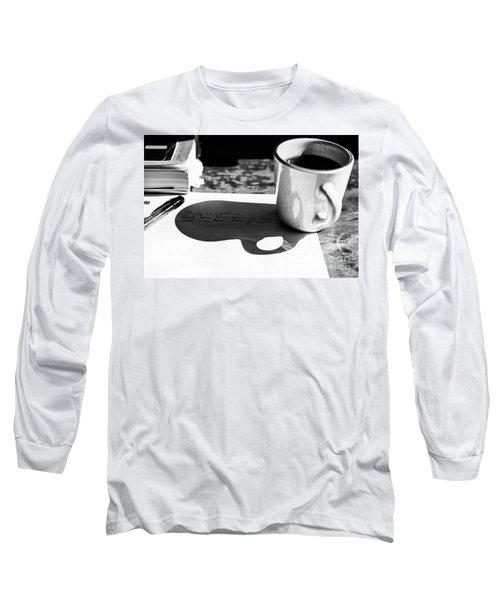 Coffee Poetry Long Sleeve T-Shirt