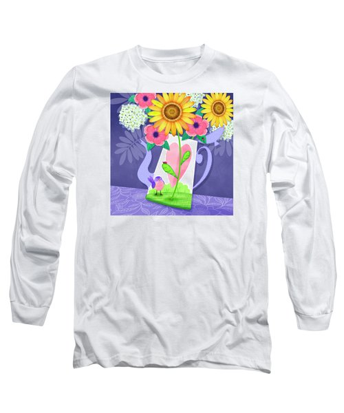 Coffee Pot Surprise Long Sleeve T-Shirt
