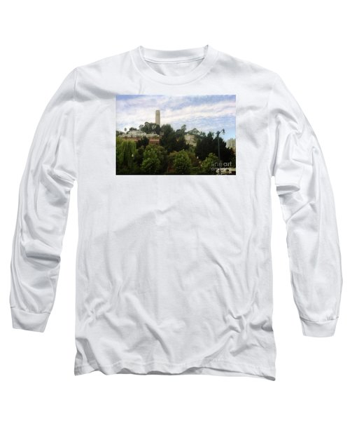 coit Tower San Francisco Long Sleeve T-Shirt