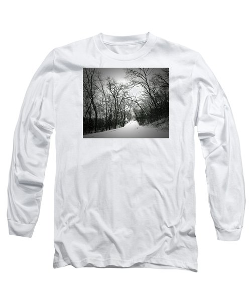 Cold Black Road Long Sleeve T-Shirt
