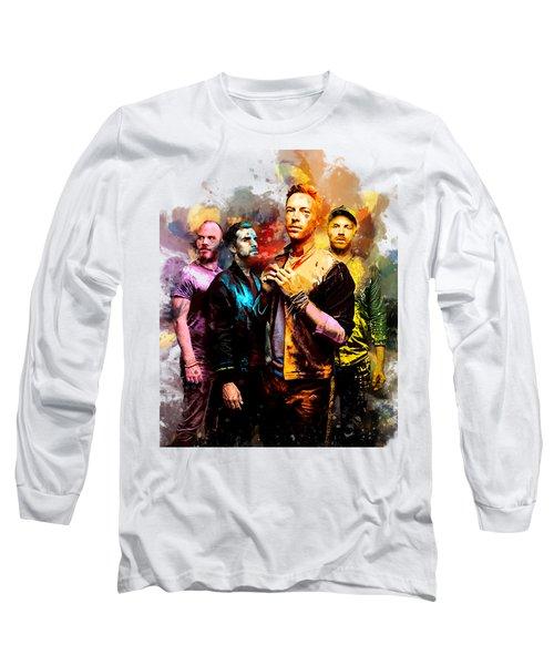 Coldplay Long Sleeve T-Shirt by Rinaldo Ananta