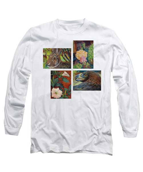 collection of 4 Desert minatures Long Sleeve T-Shirt