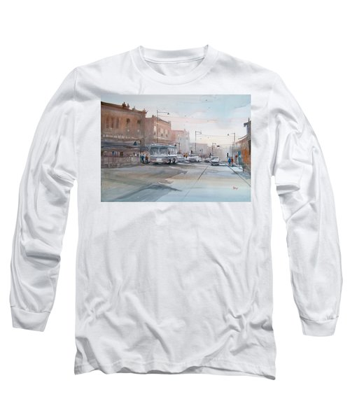 College Avenue - Appleton Long Sleeve T-Shirt by Ryan Radke