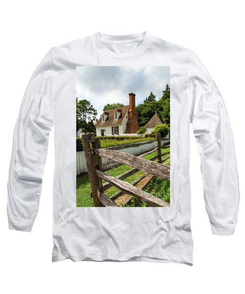 Colonial America Home Long Sleeve T-Shirt